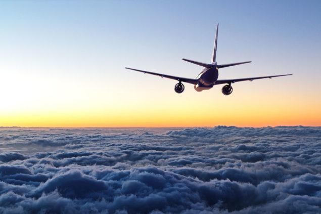 Anreise Filzmoos Flugzeug 1