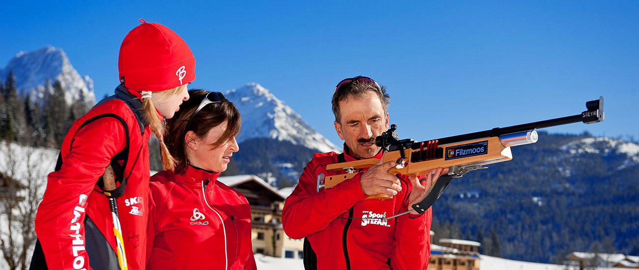 Biathlon - Winterurlaub in Filzmoos