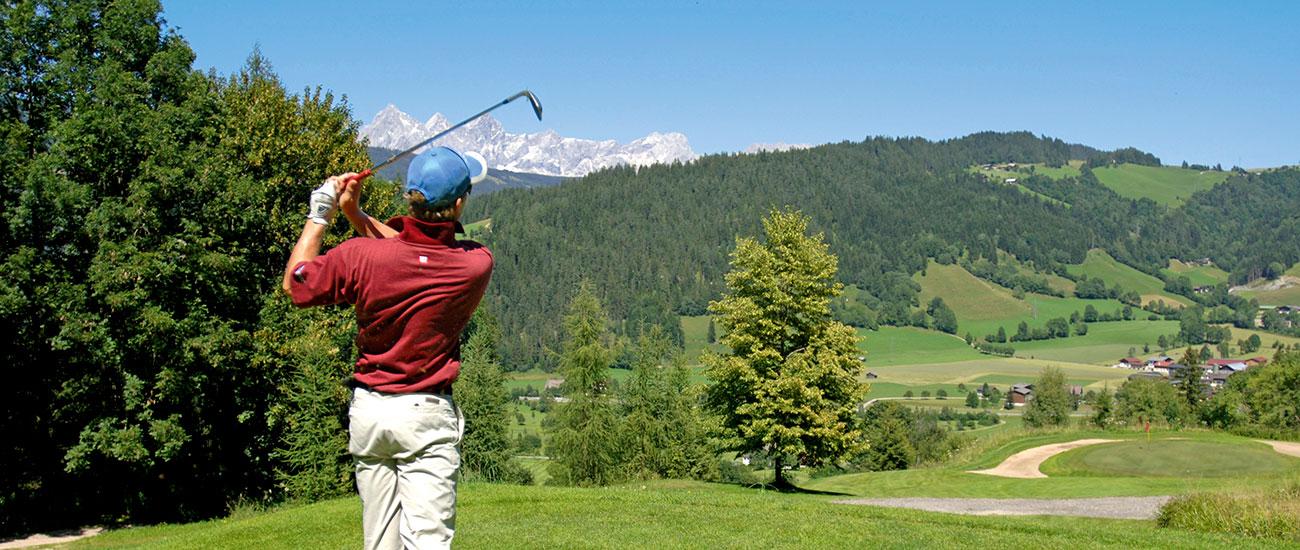 Golfen Sommerurlaub Radstadt 1