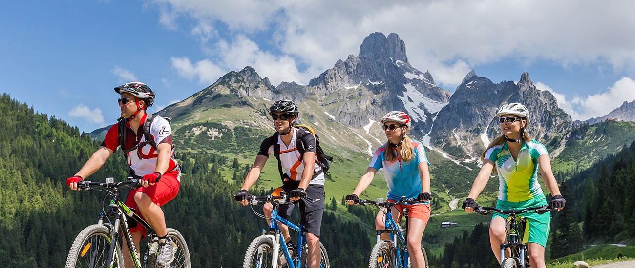 Radfahren - Sommerurlaub in Filzmoos