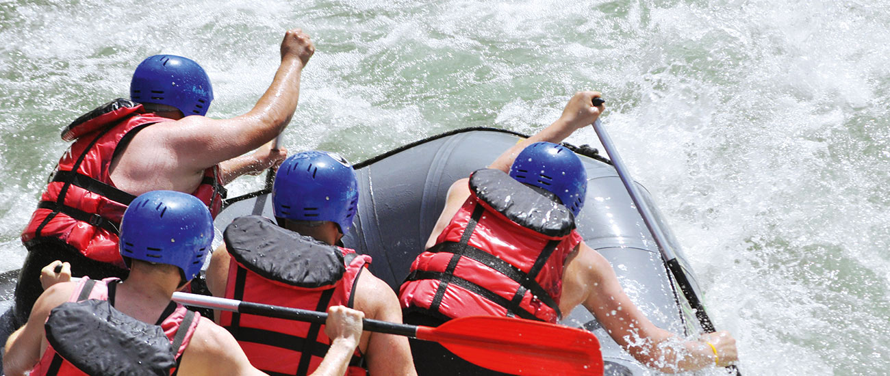 Rafting - Sommerurlaub in Filzmoos