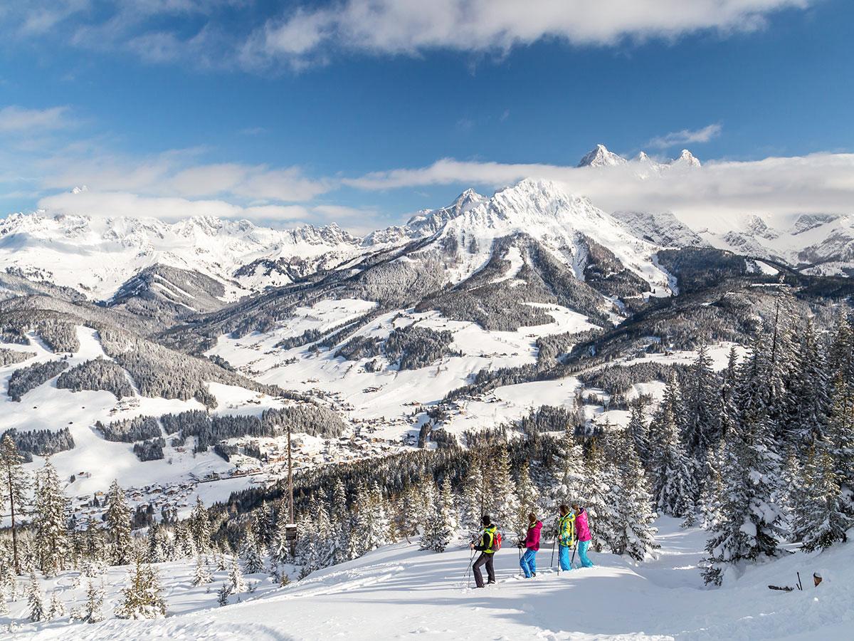 Schneeschuhwandern, Winterurlaub in Filzmoos, Salzburger Land