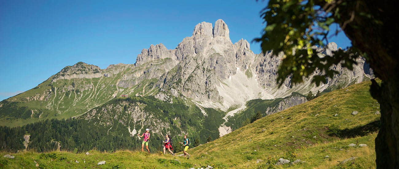 Wandern - Sommerurlaub in Filzmoos
